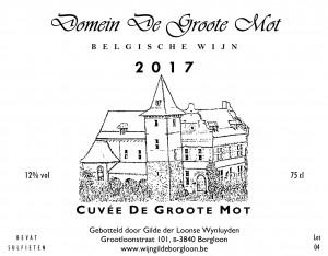 De Groote Mot Cuvée (2017)